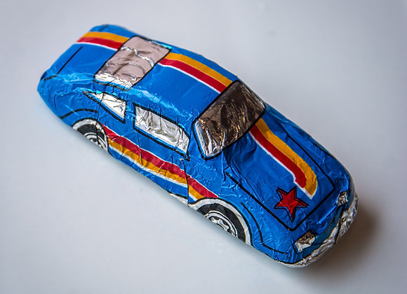 Foiled Chocolate Cars -Large