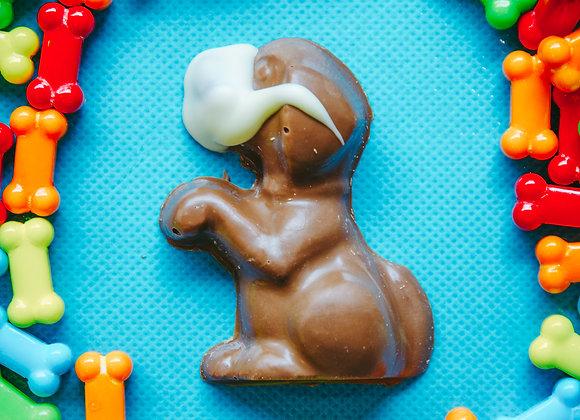 Masked Chocolate Dog
