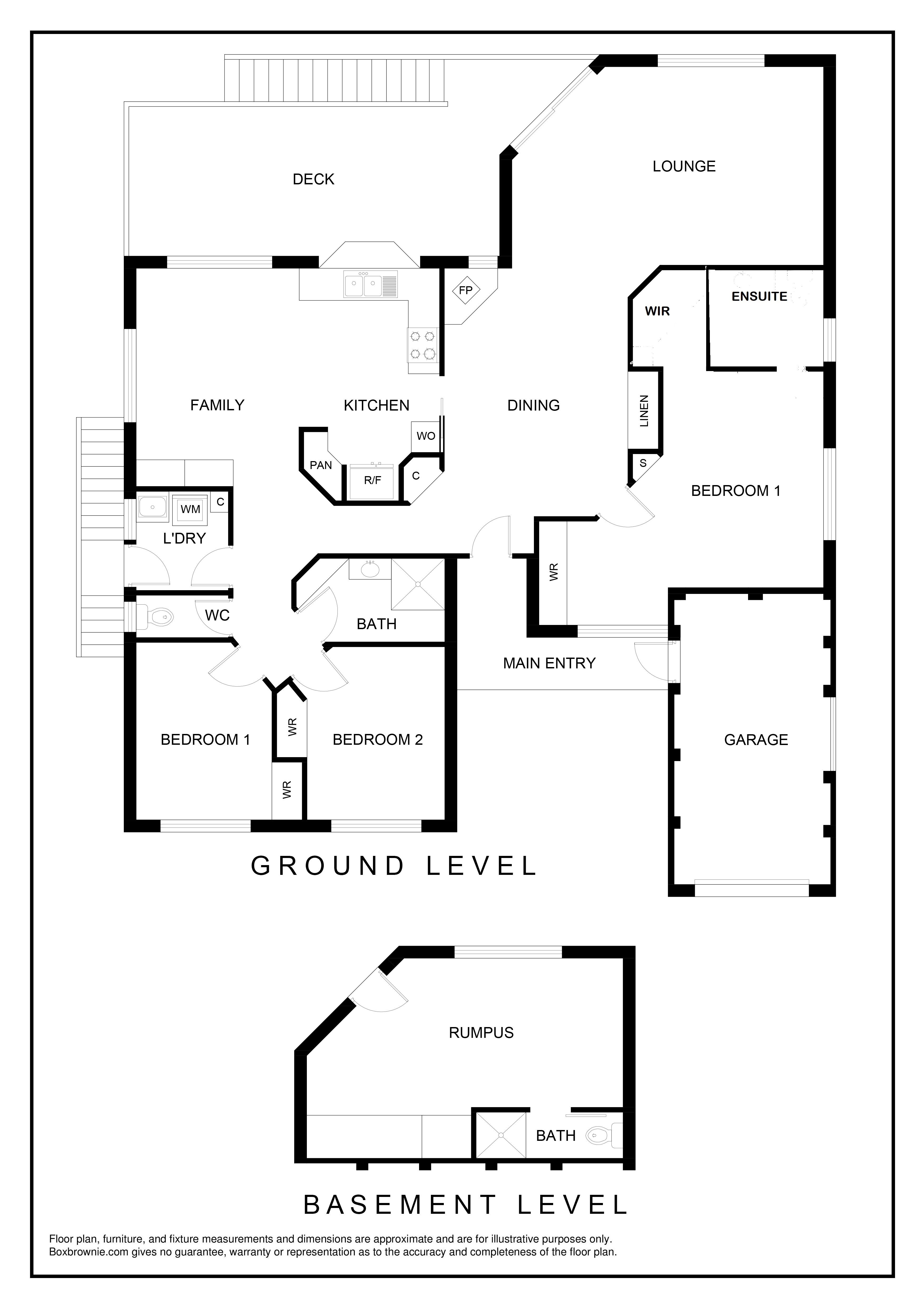 Floor Plan - 12 Emerald Place