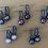 Thumbnail: CocoRaj Midi Earrings with Dark Freshwater Pearl