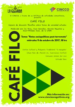 CAFÉ FILO (octubre)
