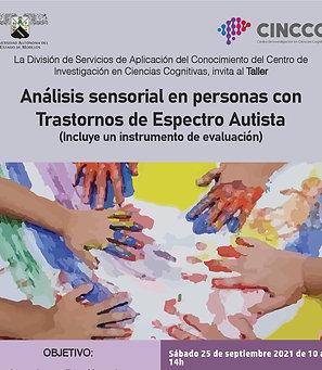 Análisis sensorial en personas con Trastornos de Espectro Autista
