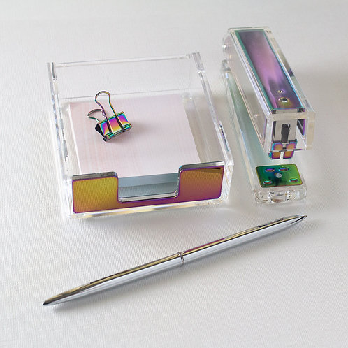 Iridescent Desk Kit