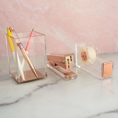 Rose Gold Desk Kit
