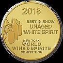 Best in Show - Unaged white spirit 2018