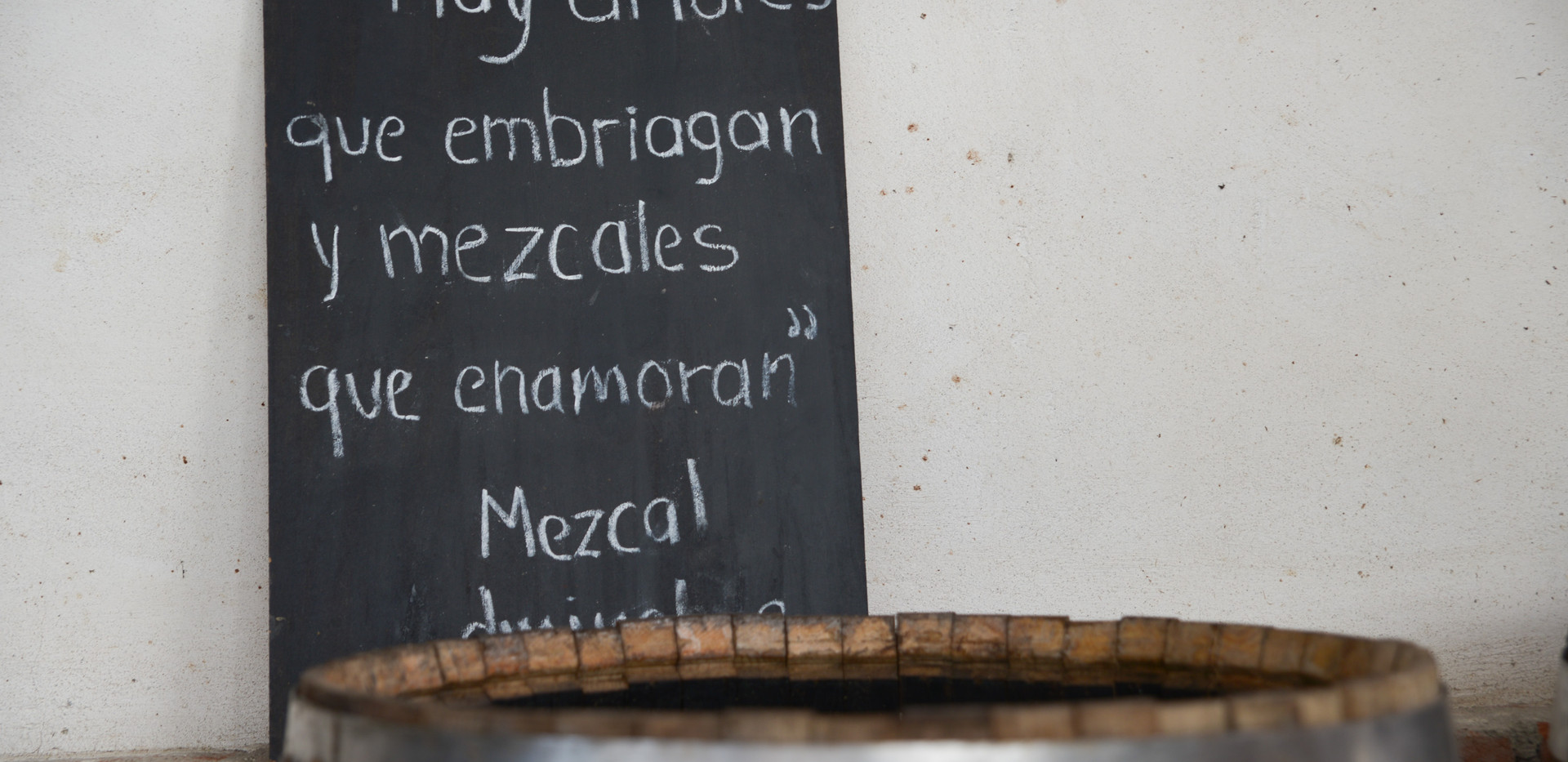 """Some loves get you drunk and some mezcals make you fall in love"""