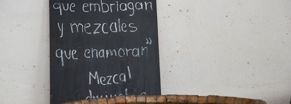 """""""Some loves get you drunk and some mezcals make you fall in love"""""""