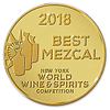 Tripled awarded Noble Coyote Mezcal Capon