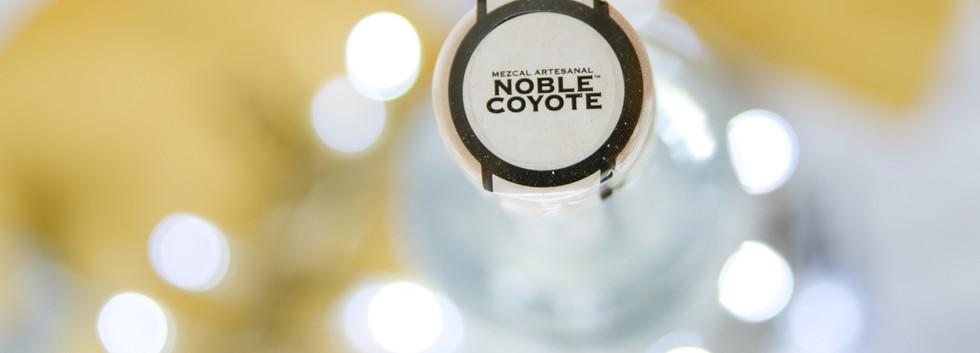 Noble Coyote Capon, triple awarded mezcal