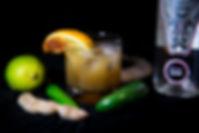 Noble Coyote cocktail Mezcal Miztec