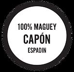 100% Maguey Capon Espadin