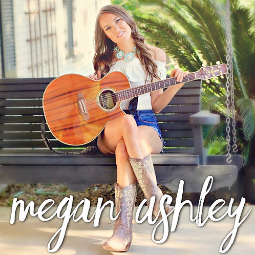 Megan Ashley CD + Hand Written Note