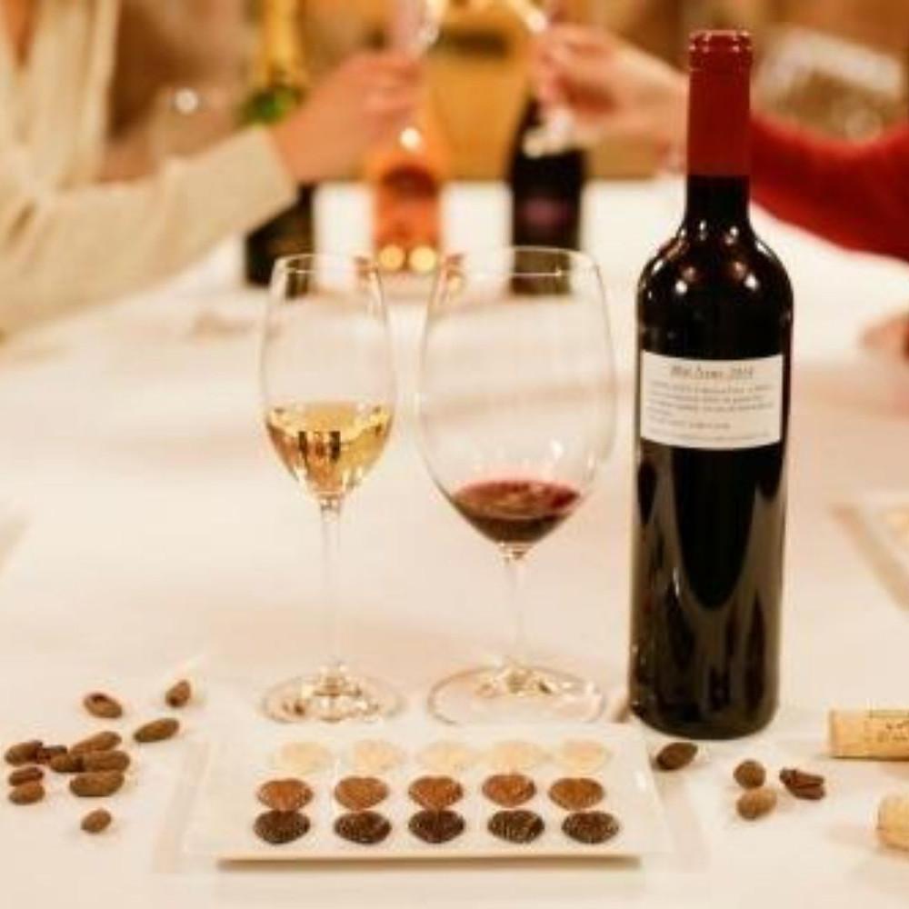 Peres Balta. Penedes. Cava. Wine. Catalonia. Catalonia Wine Region. Sitges. Simon Coll. Chocolate.