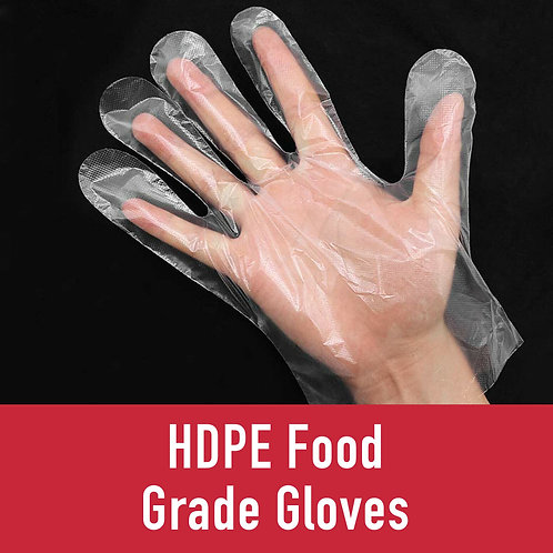 HDPE Food Grade Gloves