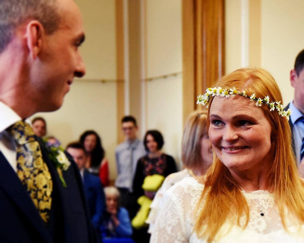 smiles, tears, wedding, vows, ceremony