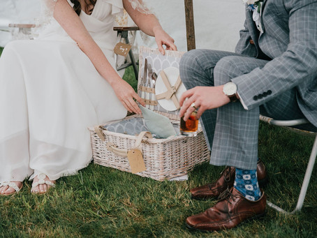 Picnic Wedding in the Yorkshire countryside