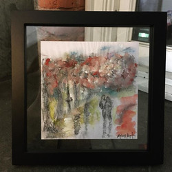 #sold #art 10x10 with frame #pionneersqu