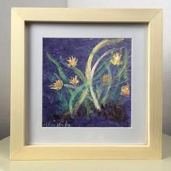 Sold, #originalart #florallove #8x8 #fra