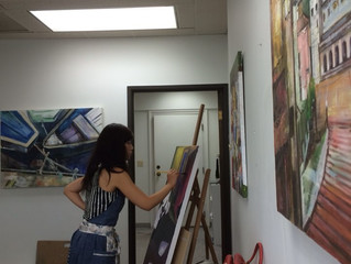 MY Margolis Exhibition Reception InFo: - Capitol Hill art Walk, April 2-9