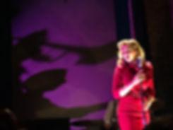 Billie at the mic - fan pic.jpg
