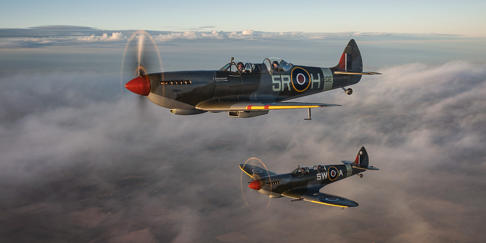 Flight in a Spitfire