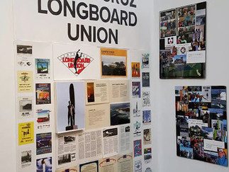 Surf Club Exhibit at Surfing Heritage & Cultural Center