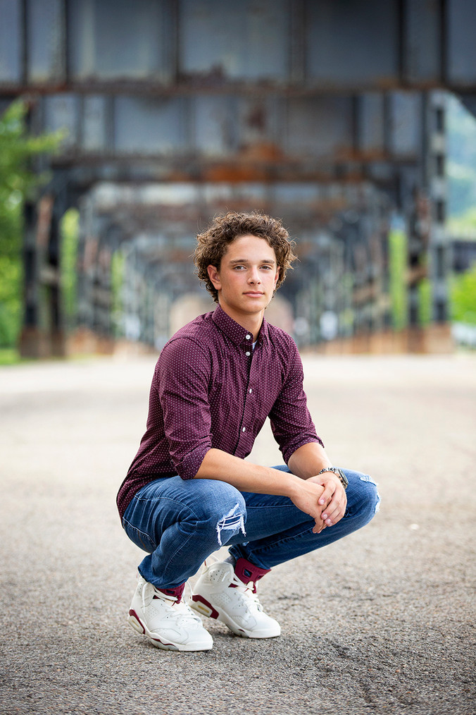 Strip District Pittsburgh | Penn Trafford High School Senior Portraits
