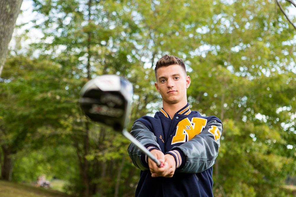 norwin golf senior photos