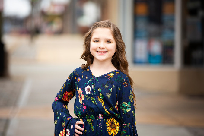 Model Head Shot Session for Kids | Kristy Wilson Photography | Pittsburgh, PA