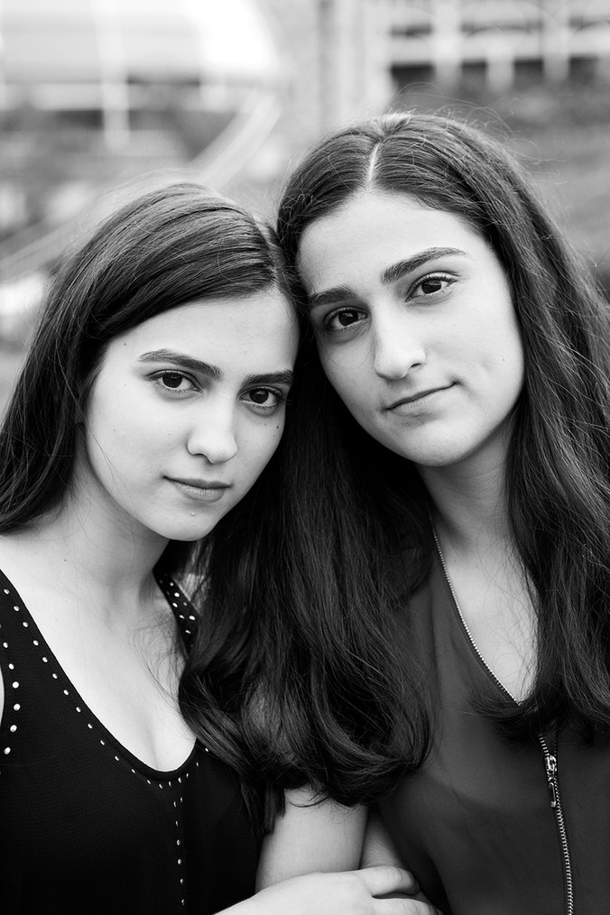 Dilara & Ayda | North Allegheny High School | Senior Portraits | Phipps Conservatory Pittsburgh,