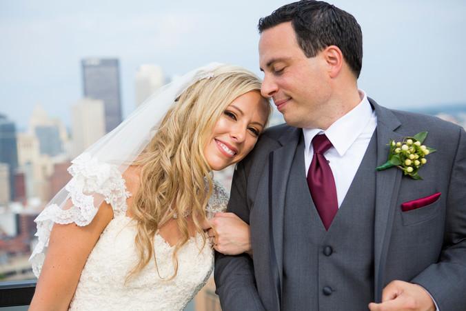 Lauren & John   Pittsburgh Airport Marriott - Mount Washington Wedding