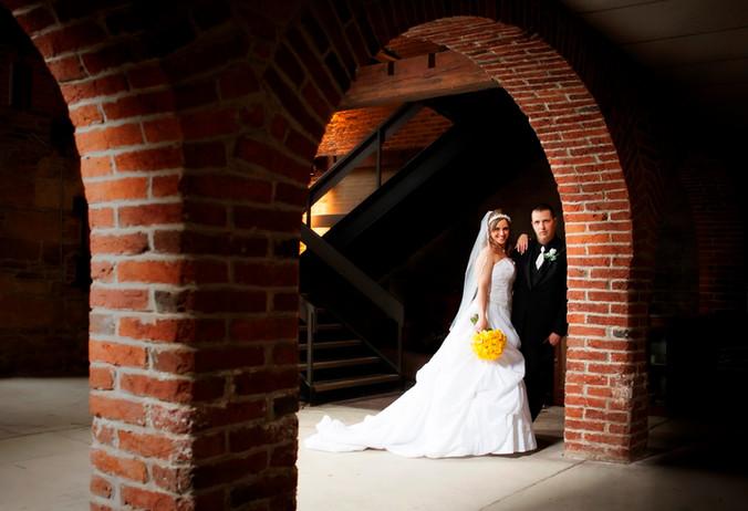 Amber & Brian   St. Vincent Basilica Wedding