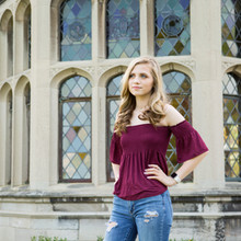 Franklin Regional Senior High School Senior Portraits | Maddie Class of 2019