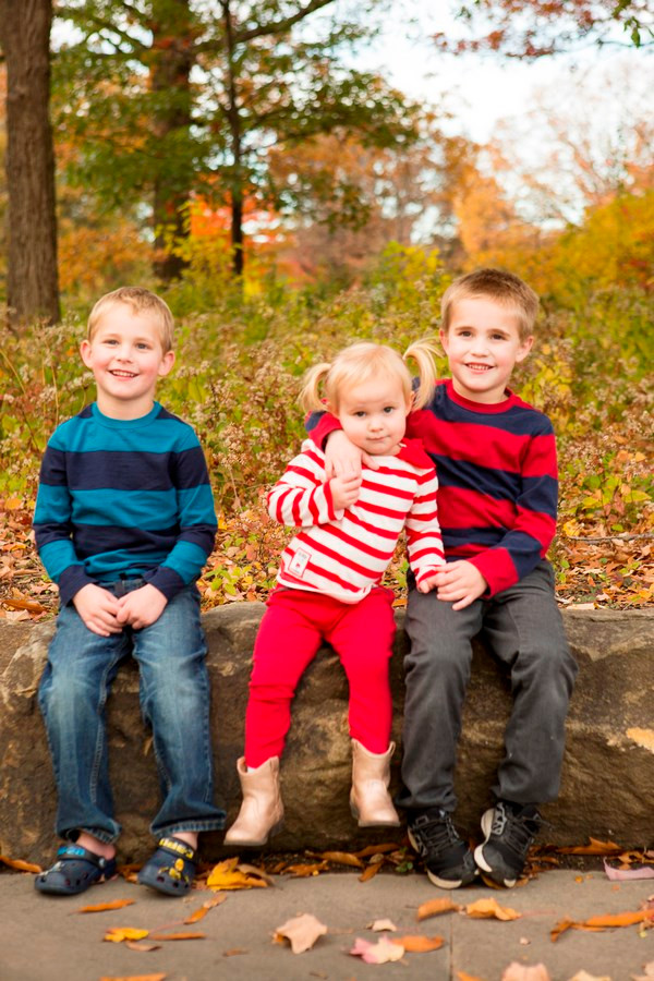 Corr Family | Point State Park | Fall Family Session | Kristy Wilson Photography