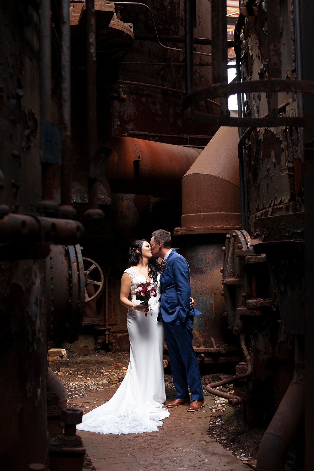 carrie furnace wedding pittsburgh