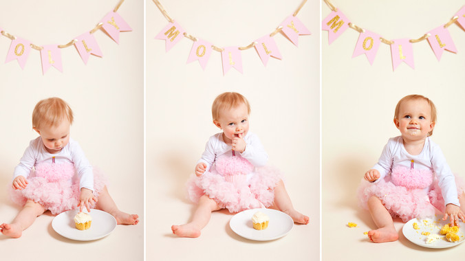 Molly | 1st Birthday & Cake Smash | Kristy Wilson Photography