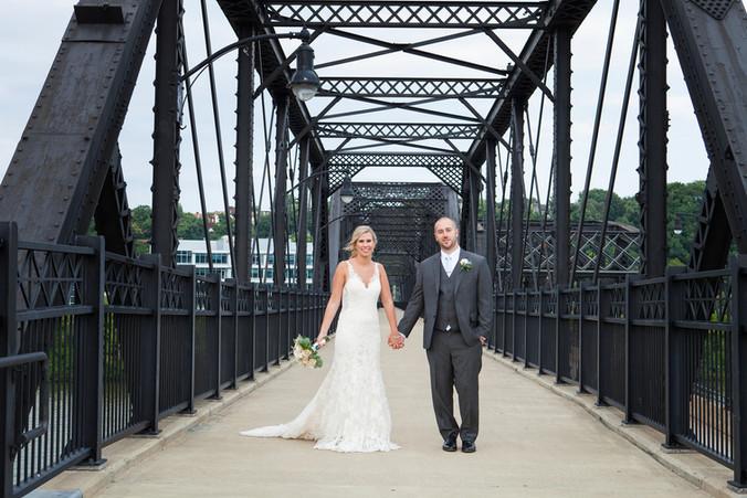 Stephanie & John   Hyatt House Southside Wedding   Contemporary Wedding Photography   Pittsburgh