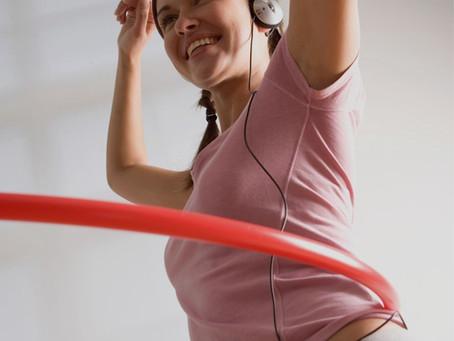 How to keep your hula hoop on your waist!