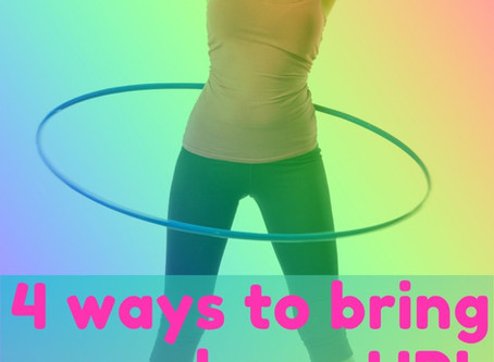 4 ways to bring your hoop UP!