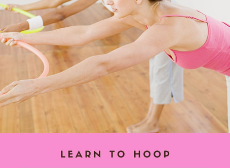 Hula Hoop Stretch sequence