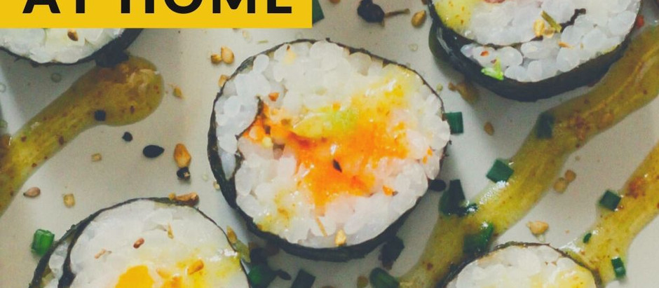 Make sushi at home (for complete beginners!)