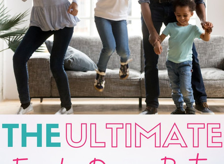 Throw the ultimate Family Dance Party!