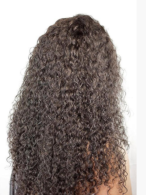 Caribbean Tight Curl Lace Front Wig