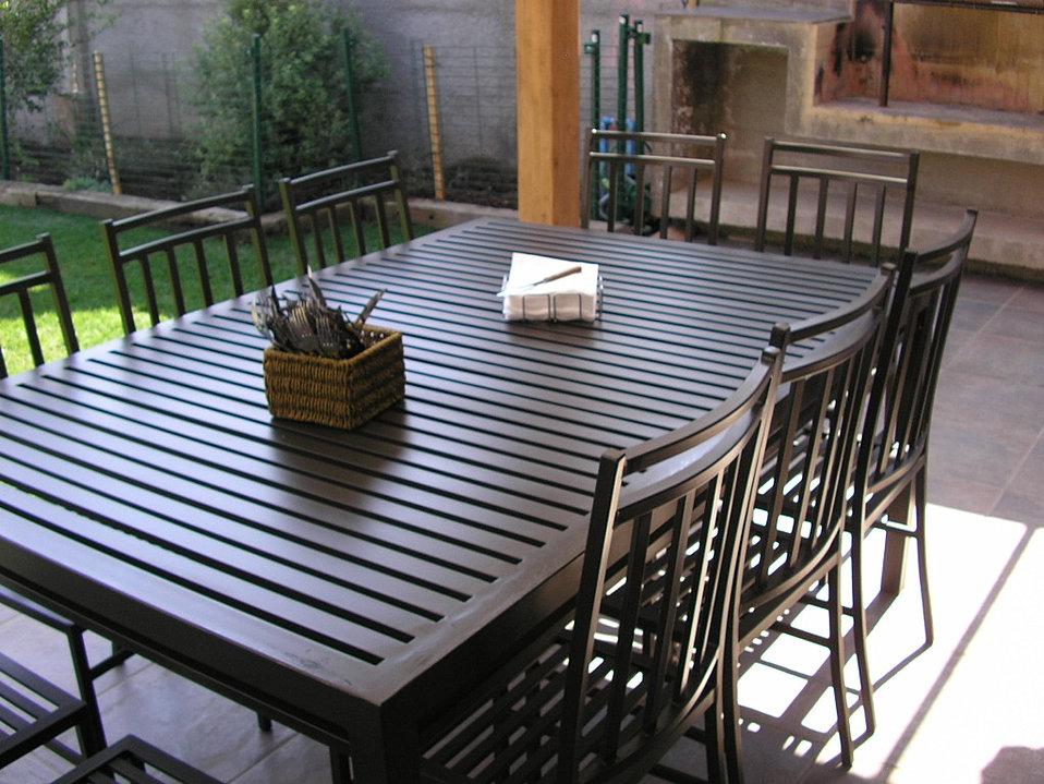 Terrazas bargiotti for Comedor para terraza