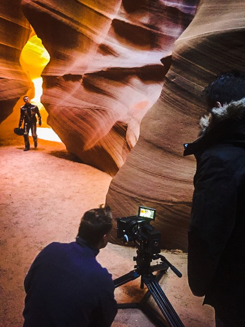 New Explorer Campaign Film Shoot
