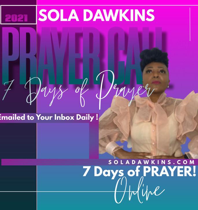 7 Days of Prayer - Sept 2021