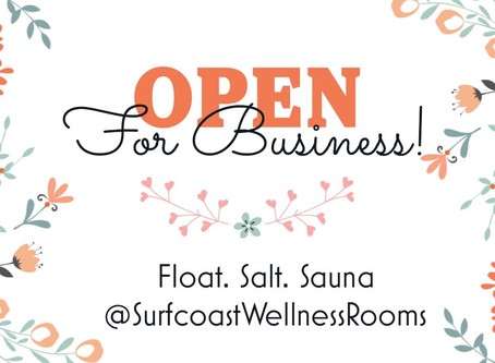 Wellness Seekers...we are open!