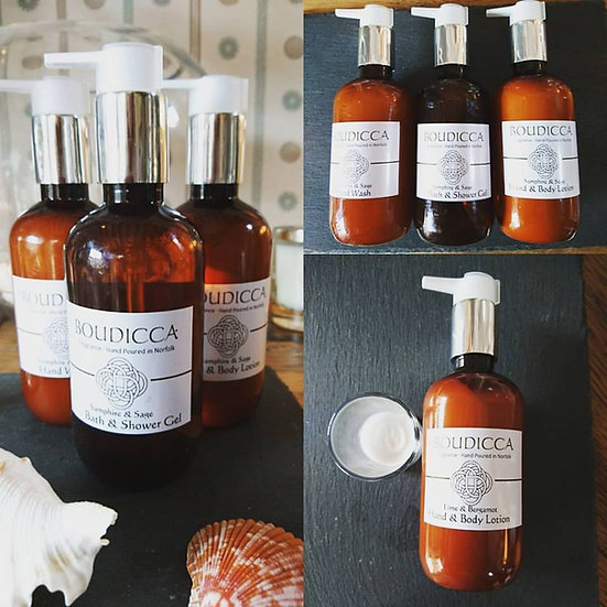 Oud & Honeysuckle Bath & Shower Gel