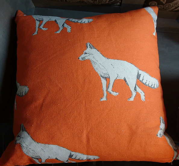 Reynard Fox Cushion - Large
