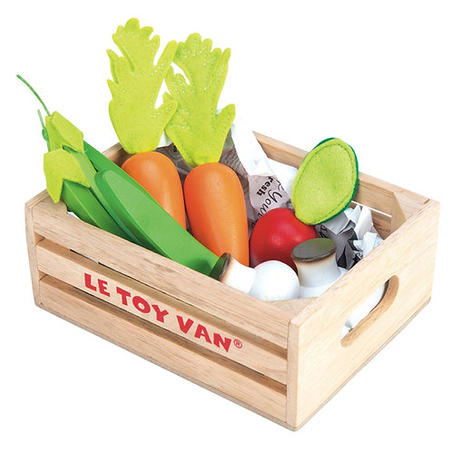 Vegetables 5 A Day Crate